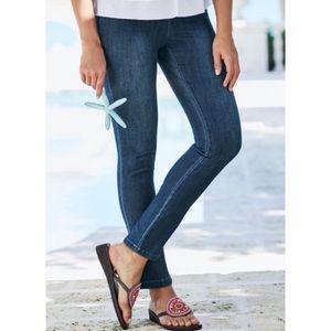 Soft Surroundings Metro Jean Legging Size L